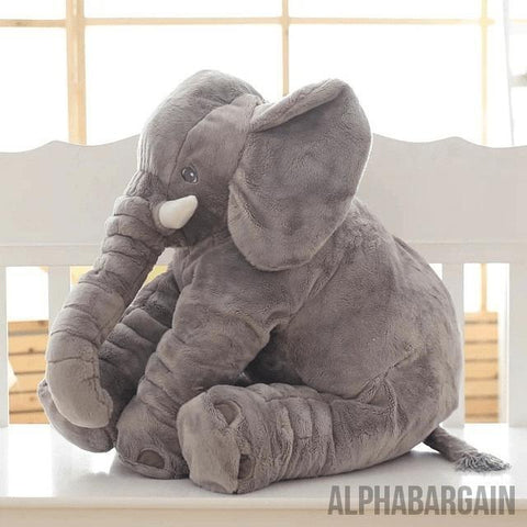 Elephant Plush Toy (By Bedtime Originals) Alpha Bargain Gray