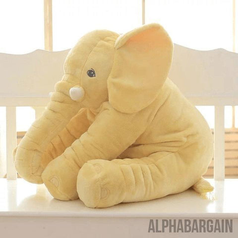 Elephant Plush Toy (By Bedtime Originals) Alpha Bargain Yellow