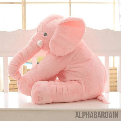 Elephant Plush Toy (By Bedtime Originals) Alpha Bargain Pink