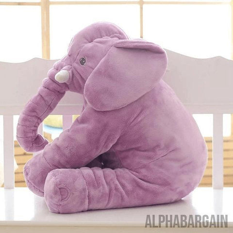 Elephant Plush Toy (By Bedtime Originals) Alpha Bargain Purple
