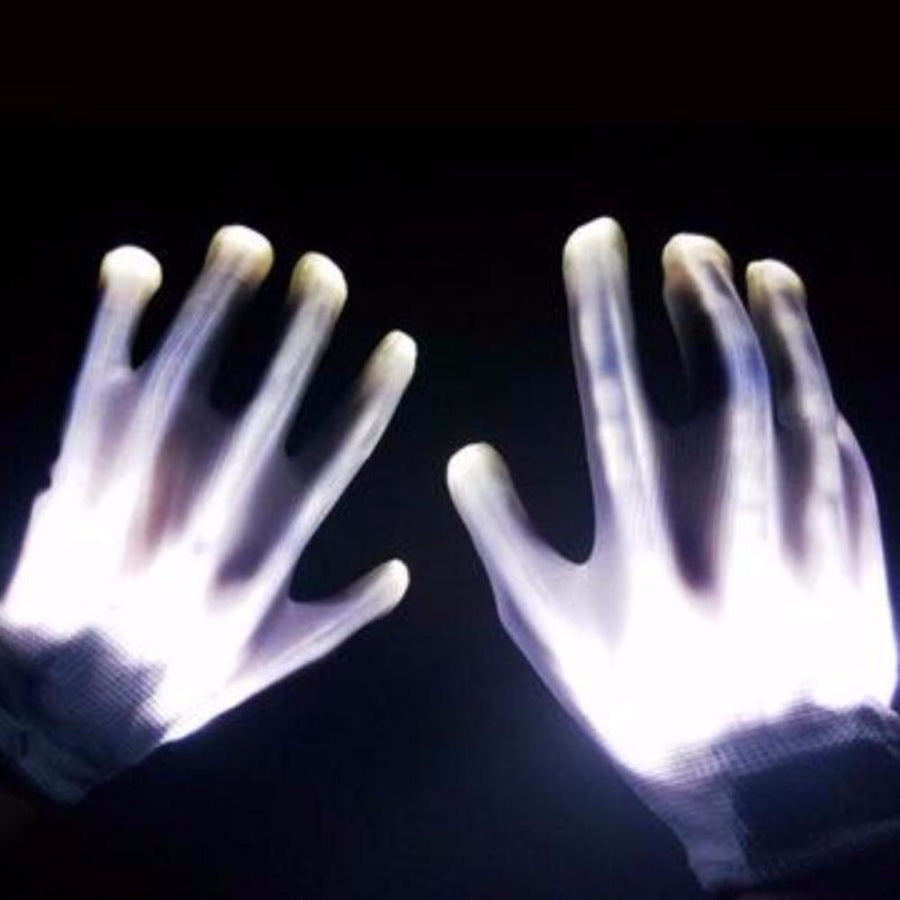 Tron LED Gloves - Alpha Bargain