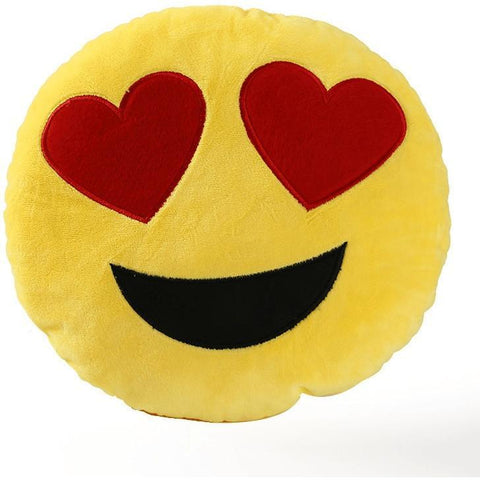 Image of High Quality Emoji Pillow Cushion Alpha Bargain in love