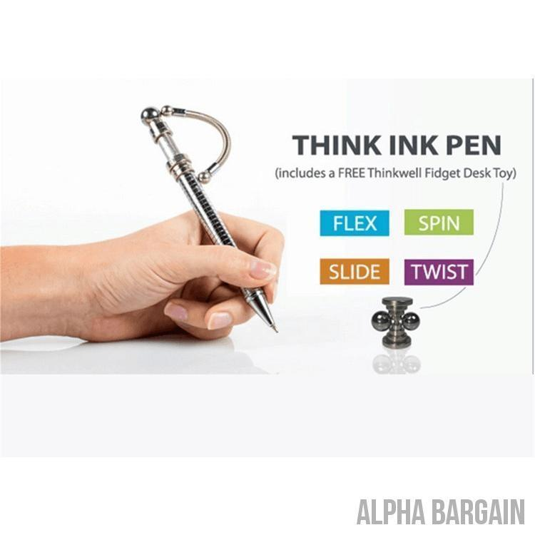 Fidget Think Ink Pen - Buy 1 Get 1 40% OFF! - Alpha Bargain