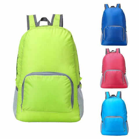 Image of Lightweight Foldable Waterproof Backpack Alpha Bargain Red