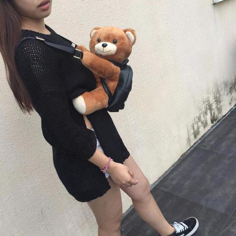 Image of Teddy Bear Backpack - Alpha Bargain