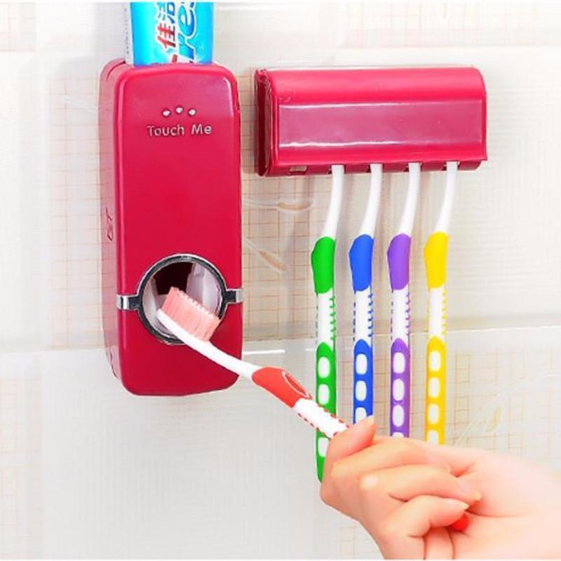 AUTOMATIC TOOTHPASTE DISPENSER - Alpha Bargain