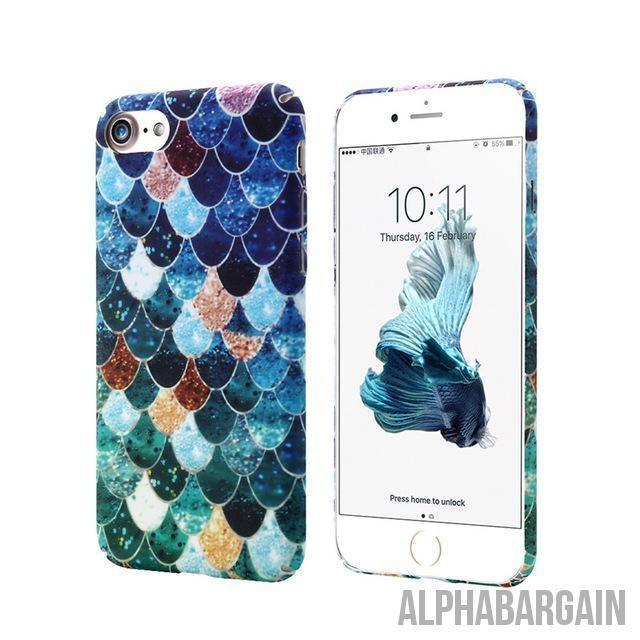 Mermaid IPhone Cases Alpha Bargain Blue For iPhone 6 6S