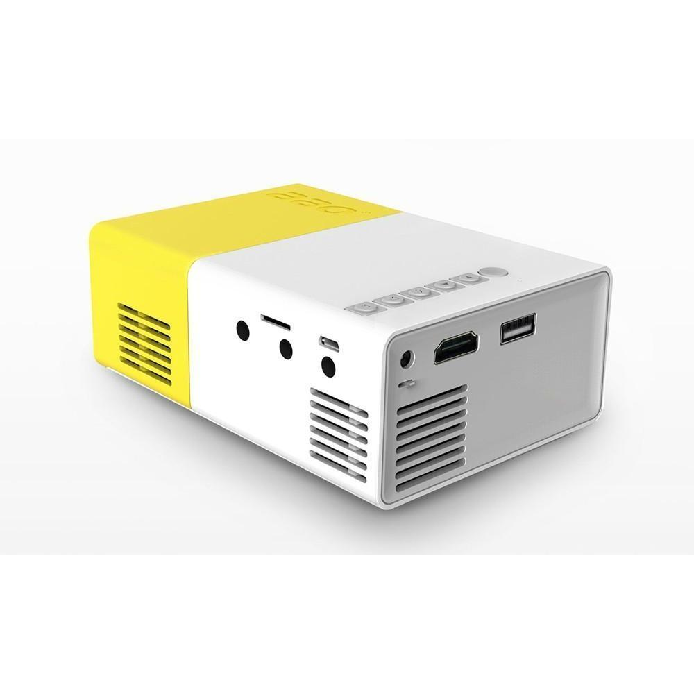 LUMI™ Projector Ultra Portable ( Full HD Input Supported ) - Alpha Bargain