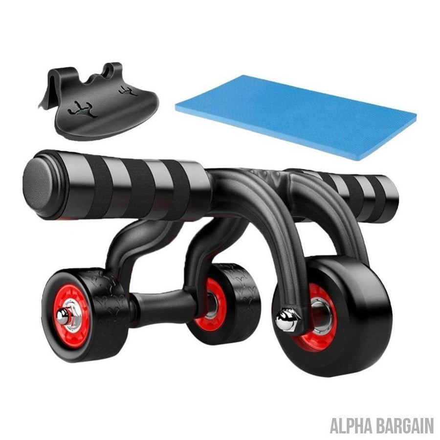 FitTrack 3 Wheels Fitness AB Roller - Alpha Bargain