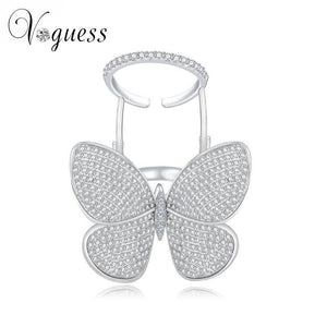 Voguess Moving Butterfly Ring - Alpha Bargain