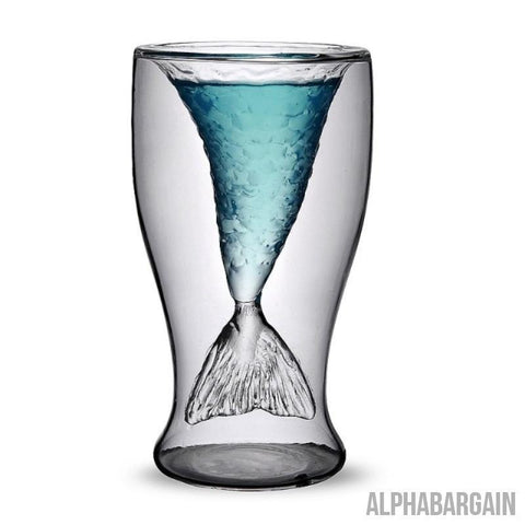 Image of Mermaid Glass - LIMITED EDITION Alpha Bargain