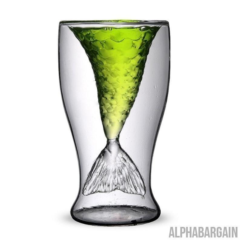 Mermaid Glass - LIMITED EDITION Alpha Bargain