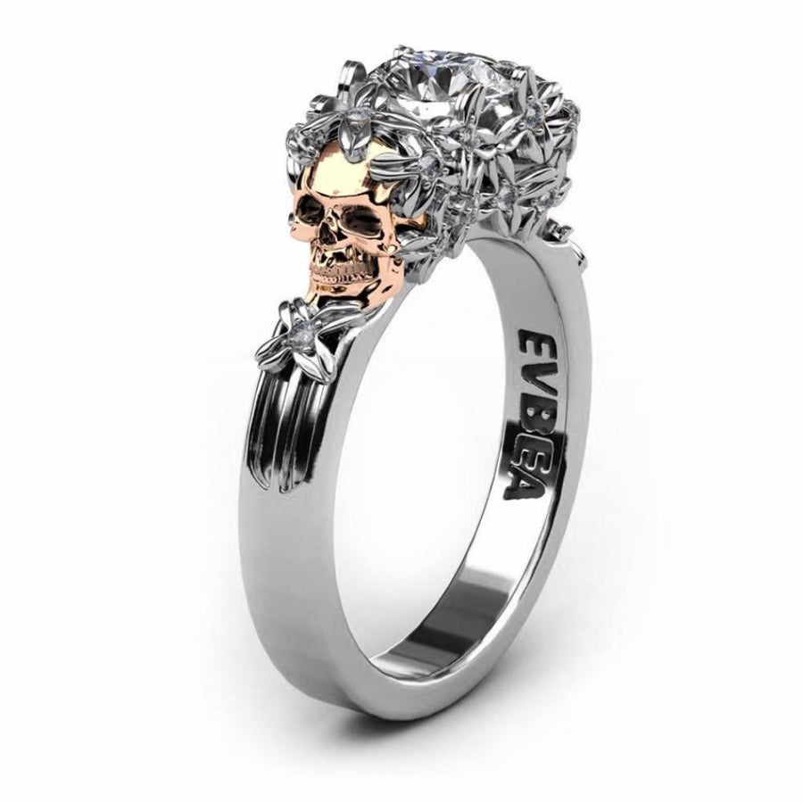 Skull Obession Skull Ring - Alpha Bargain