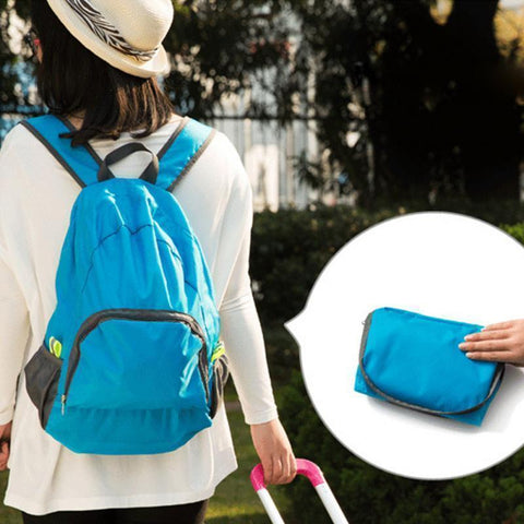 Image of Lightweight Foldable Waterproof Backpack Alpha Bargain
