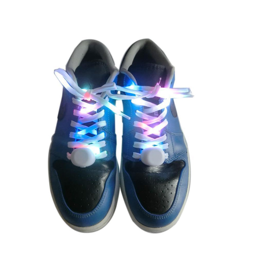 Light Up LED Shoelaces | 1 Pair - Alpha Bargain