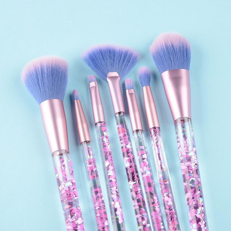 Liquid Glitter Makeup Brush (Set)