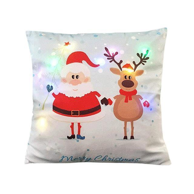 Christmas LED Pillowcases - Alpha Bargain