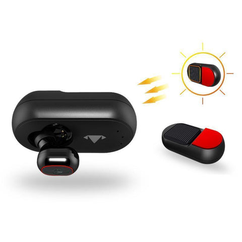 Image of Solar Powered Bluetooth Car Earphone - Alpha Bargain