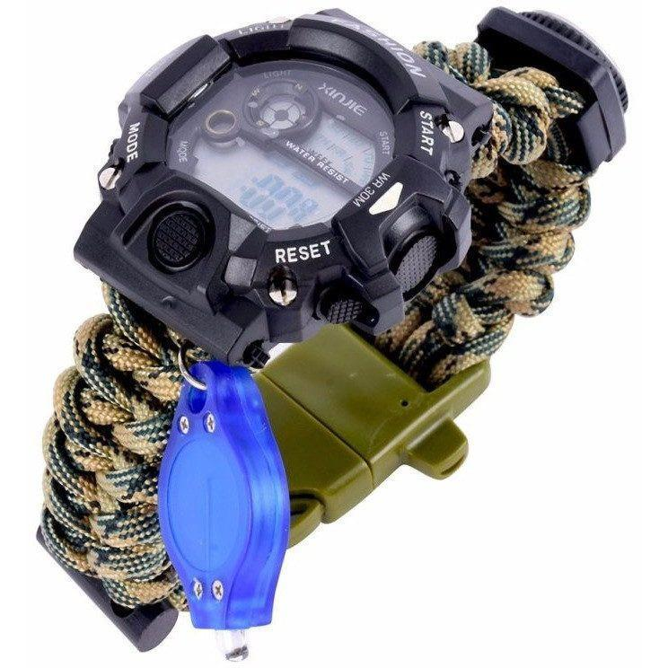 Paracord Camping Watch