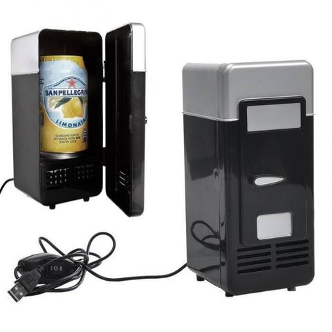 Image of PAC Mini USB Fridge - Perfect Refrigerator for Laptop/PC - Alpha Bargain