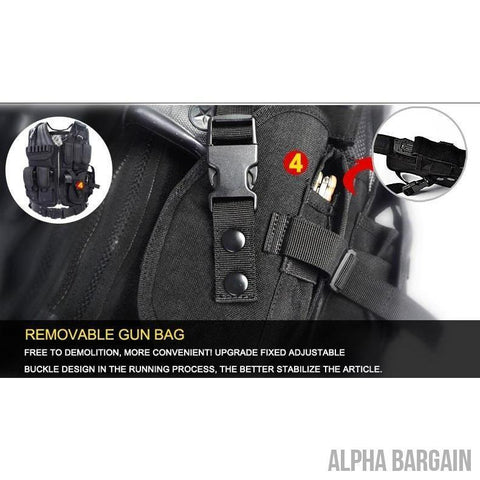 Image of ABC Police Tactical Hunting Vest Vital Survivalist