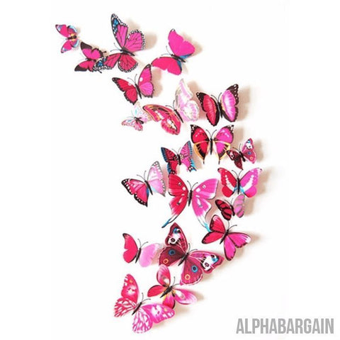 Image of 3D Butterfly Wall Stickers - Buy 3 Get 1 FREE! Alpha Bargain