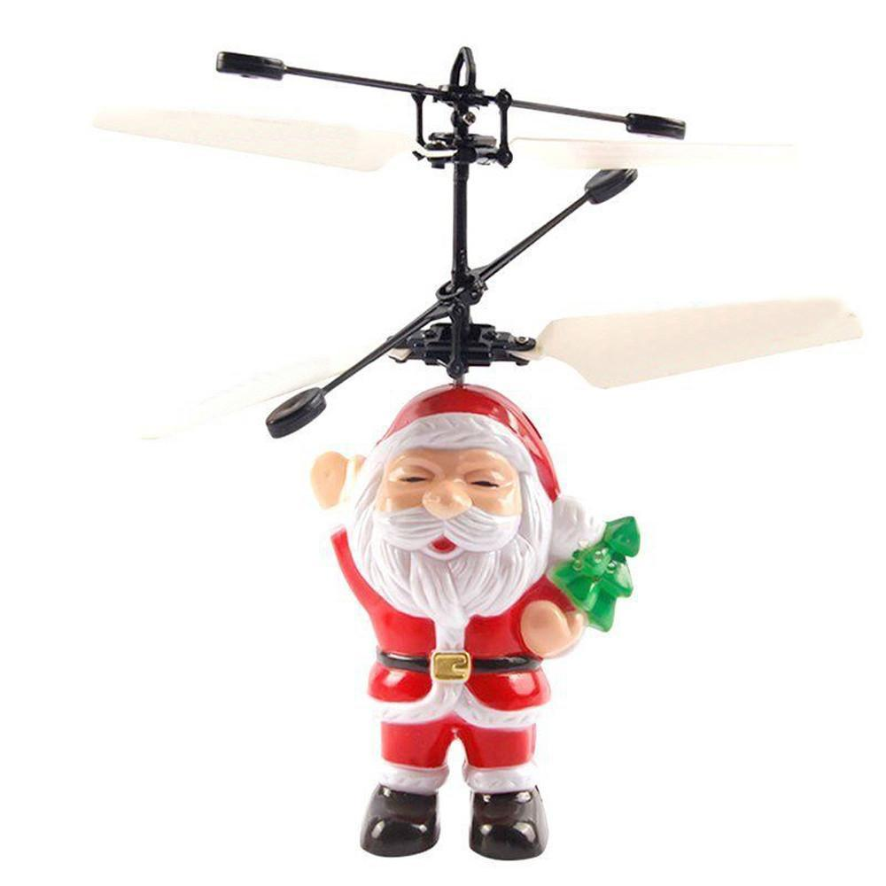 LED Flying Santa! Alpha Bargain