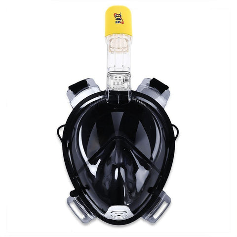 Image of Xtreme Pursuits Underwater Snorkel Mask (2018 Edition) Alpha Bargain Black S/M- Children & Adults