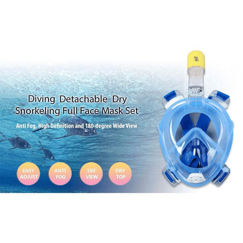 Image of Xtreme Pursuits Underwater Snorkel Mask (2018 Edition) Alpha Bargain