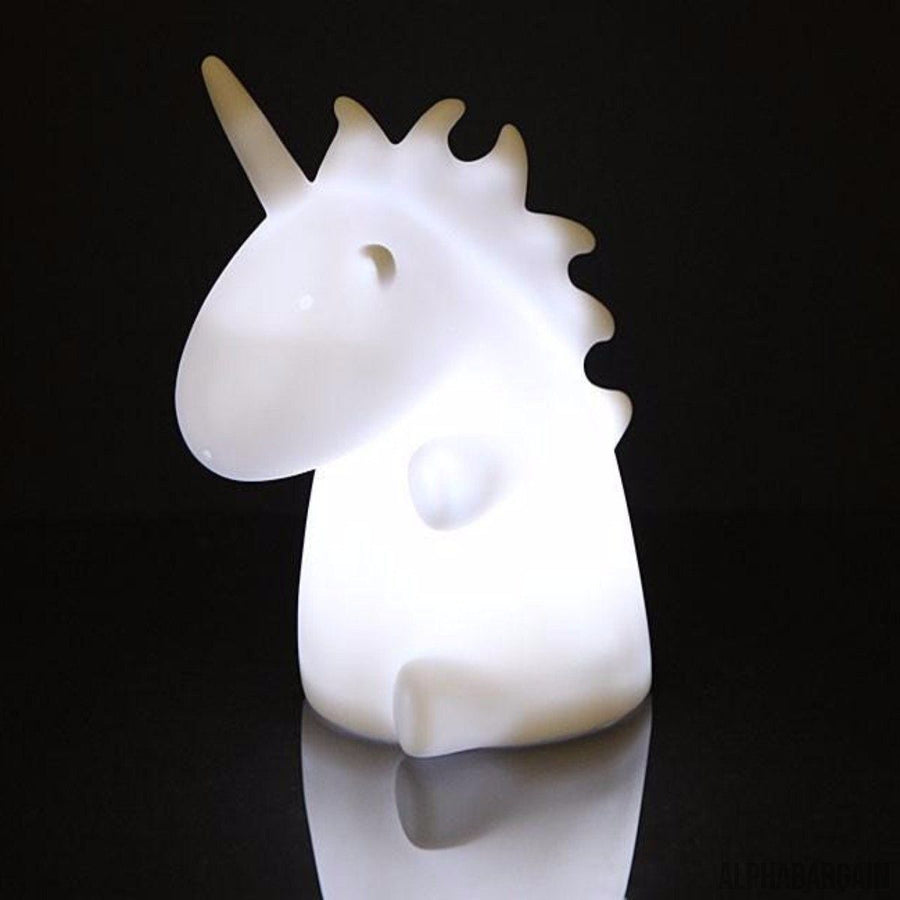 Light Up Unicorn - Alpha Bargain