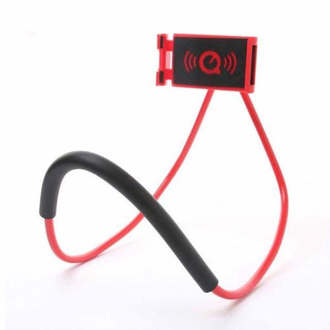 Image of Versa Hanging Neck Phone Stand Mobile Phone Holders & Stands Jewelry Mall -Moonar red