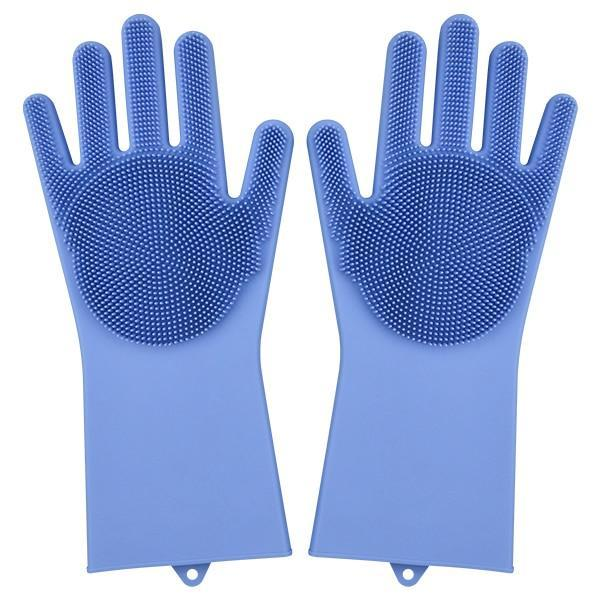 Magic Silicone Gloves Household Gloves Alpha Bargain Blue