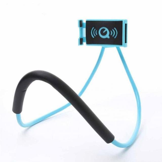 Versa Hanging Neck Phone Stand Mobile Phone Holders & Stands Jewelry Mall -Moonar blue
