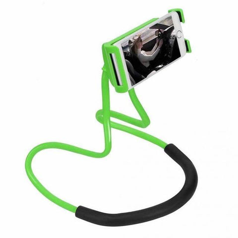 Image of Versa Hanging Neck Phone Stand Mobile Phone Holders & Stands Jewelry Mall -Moonar green