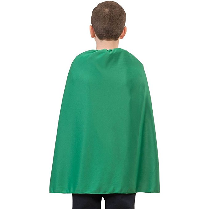 RG Costumes Green Superhero Child