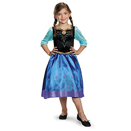 Disguise Anna Classic Costume Medium (7-8)