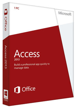 Microsoft Access 2013 for Windows PC - SoftwareChick