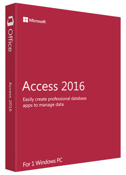Microsoft Access 2016 for Windows PC