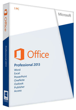 Microsoft Office Professional 2013 for Windows PC - SoftwareChick