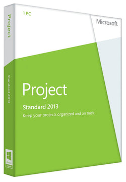 Microsoft Project Standard 2013 for Windows PC - MyMSOffice.com