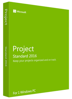 Microsoft Project Standard 2016 for Windows PC - MyMSOffice.com