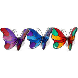 butterfly suncatcher window suction decoration