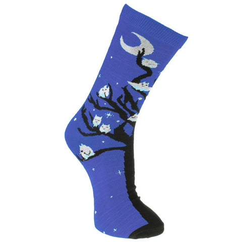 OWLS BAMBOO SOCKS - ladies
