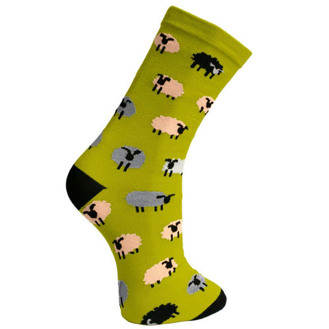 SHEEP BAMBOO SOCKS - ladies
