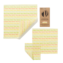 VEGAN WAX WRAPS MEDIUM KITCHEN PACK