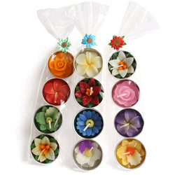 FLOWER TEALIGHT GIFT SET