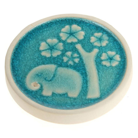 BLUE ELEPHANT INCENSE HOLDER