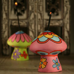 TOADSTOOL INCENSE HOLDER