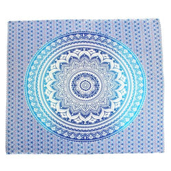TURQUOISE MANDALA THROW