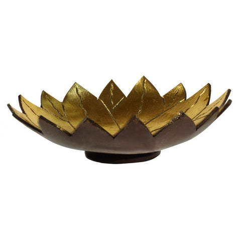 COCONUT SHELL LOTUS DISH